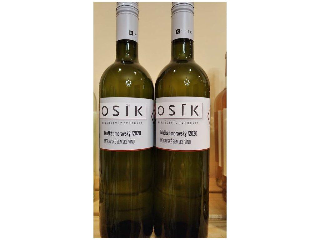 Muškát moravský vinařství Kosík Vinotéka ve dvoře