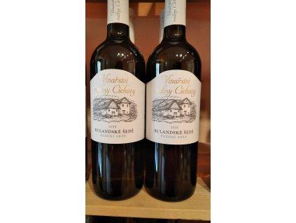 Rulandské šedé vinařství Cícha