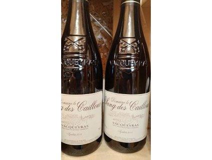 Cuvée Azalaïs Domaine Sang des Cailloux Vacqueyras Vinotéka ve dvoře