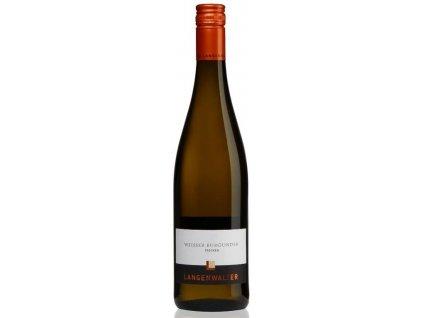 Weisser Burgunder Vinotéka ve dvoře