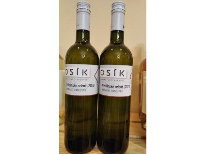 Veltlínské zelené vinařství Kosík Vinotéka ve dvoře