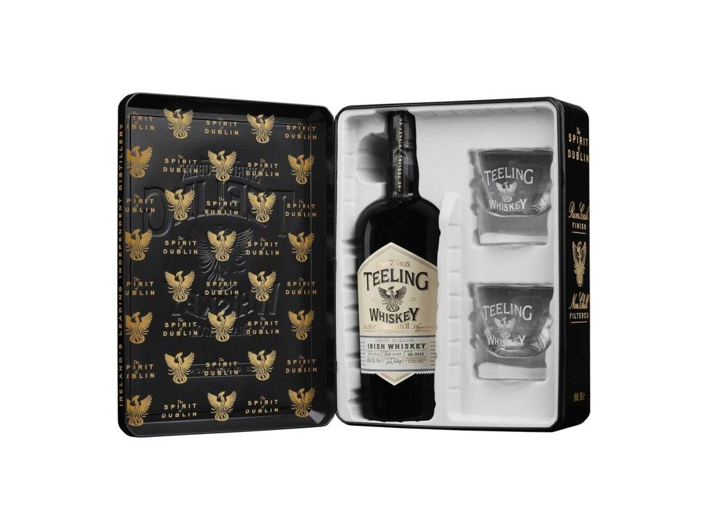 spirits teeling small batch glass pack 70cl 14395044921422 x500