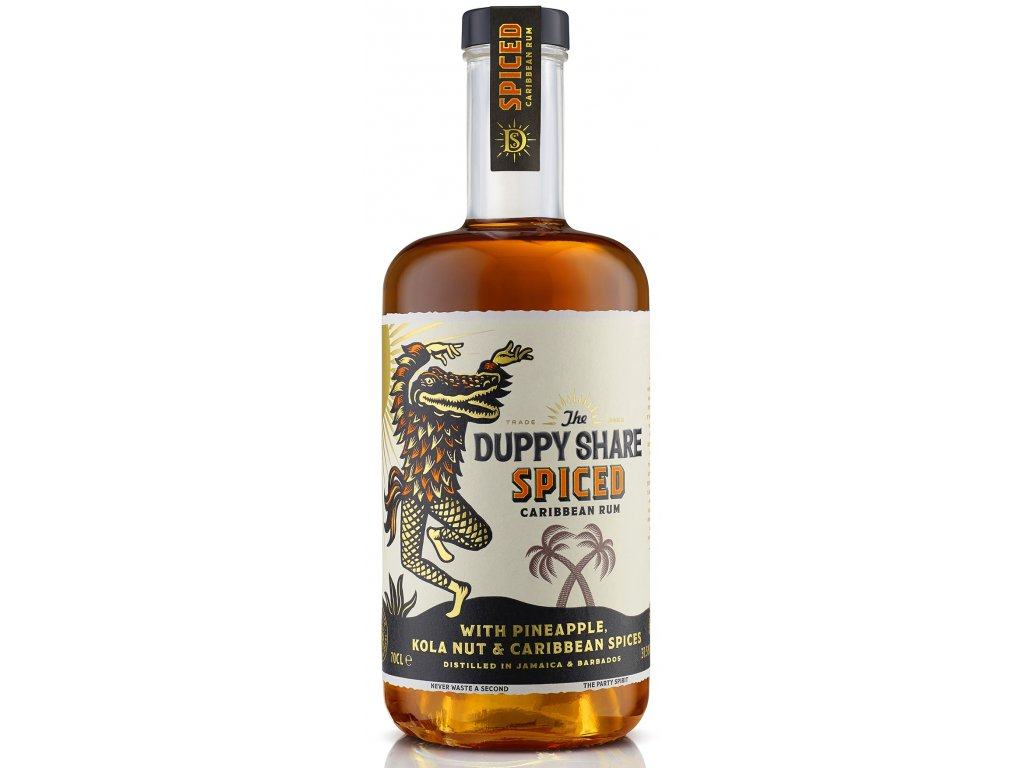 Duppy Share Spiced 0,7L 37,5% Vol.