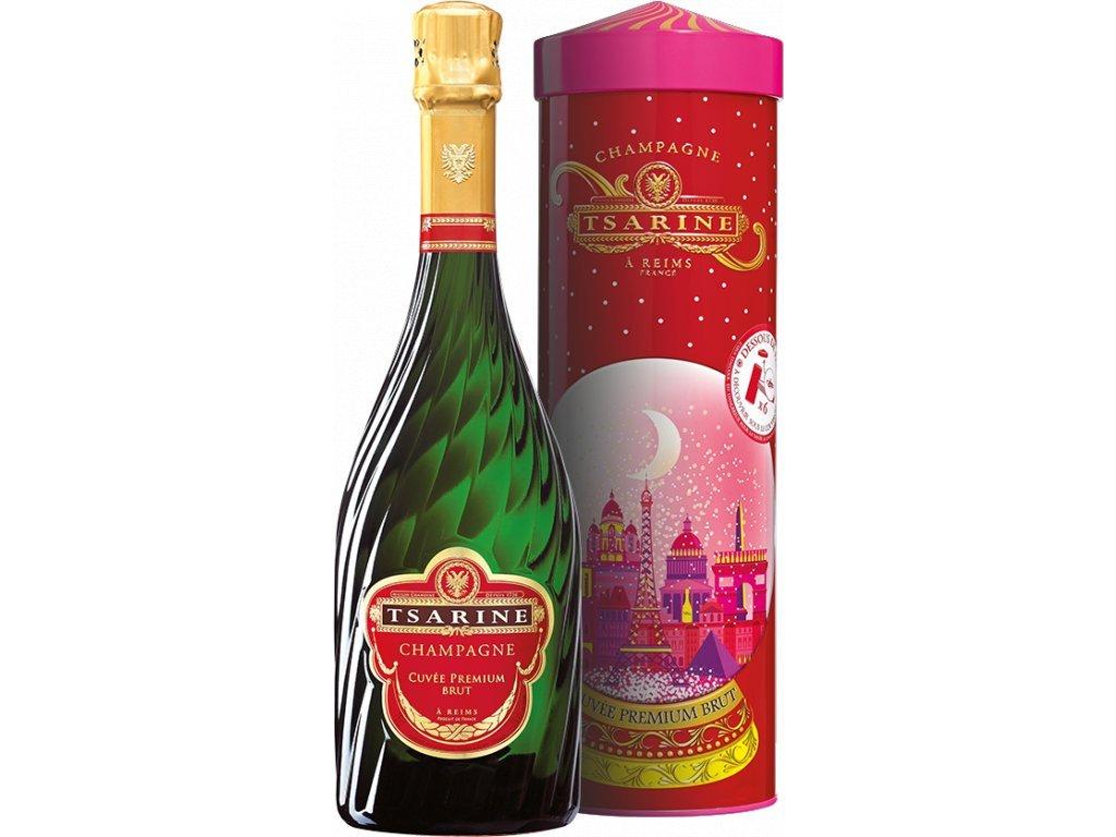 45791 champagne tsarine cuvee premium brut v boxu 0 75l