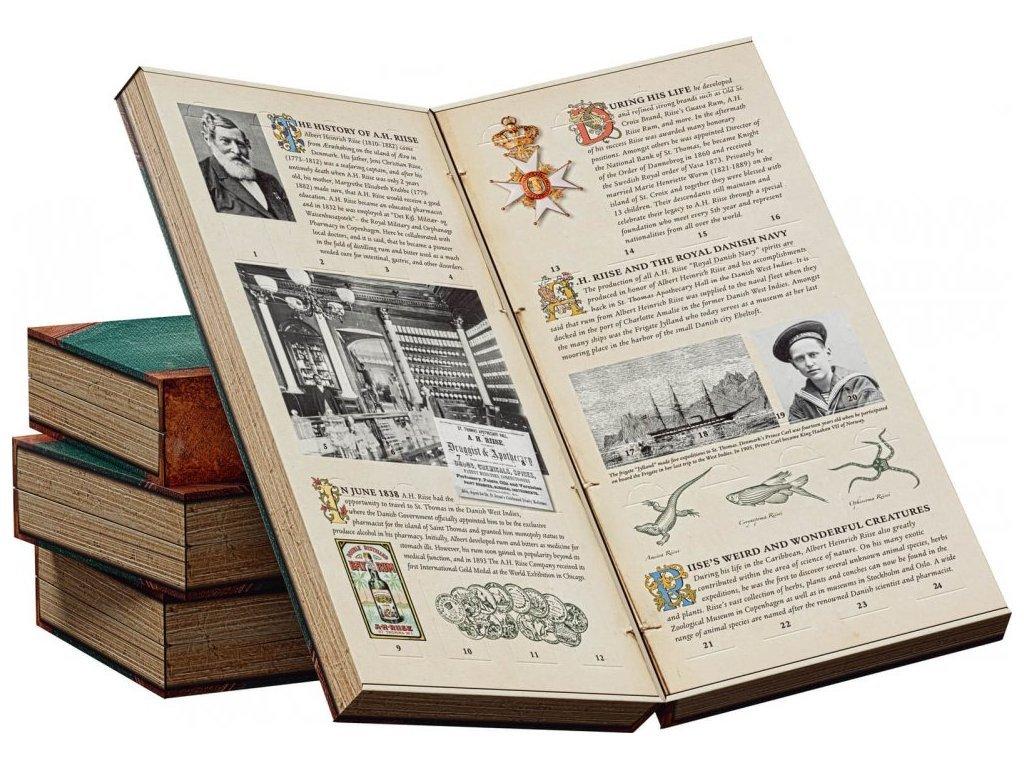 A.H.Riise rumový kalendář GB 24 x 0,02 l