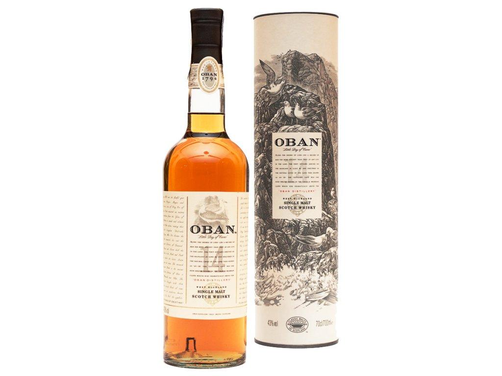 Oban Single Malt whisky 0,7l 43% vol.