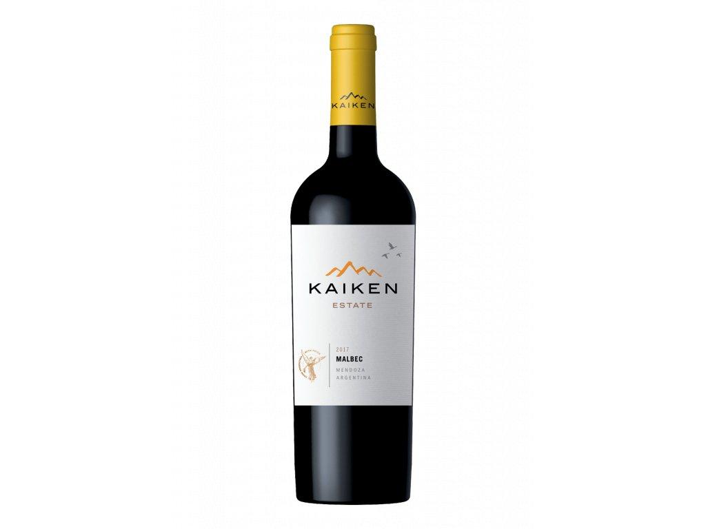 Malbec Estate - suché Kaiken 0,75l