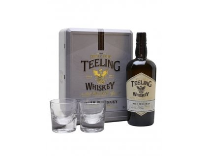 Teeling Small Batch Whiskey 2 Glasses Gift Pack