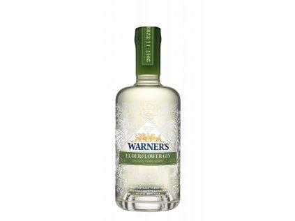 Warners Edwards Elderflower Gin 40% 0,7 l (holá láhev)