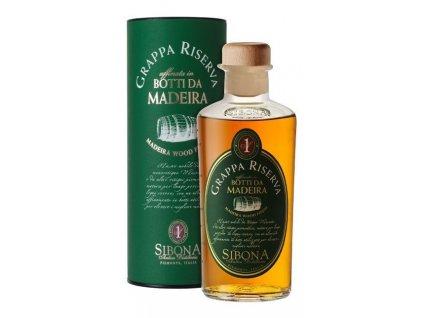 Grappa Sibona Riserva Botti da Madeira 0,5l GB