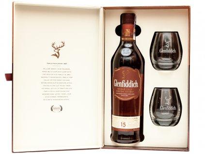 Glenfiddich 15 box