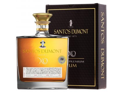 santos dumont xo super premium rum 07l gb 40