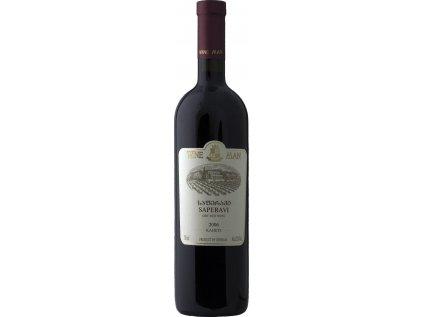 Saperavi - suché Wine Man 0,75l