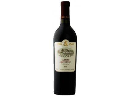 Akhasheni - polosladké Wine Man 0,75l
