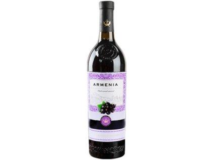 Black currant semisweet, Armenia 0,75l