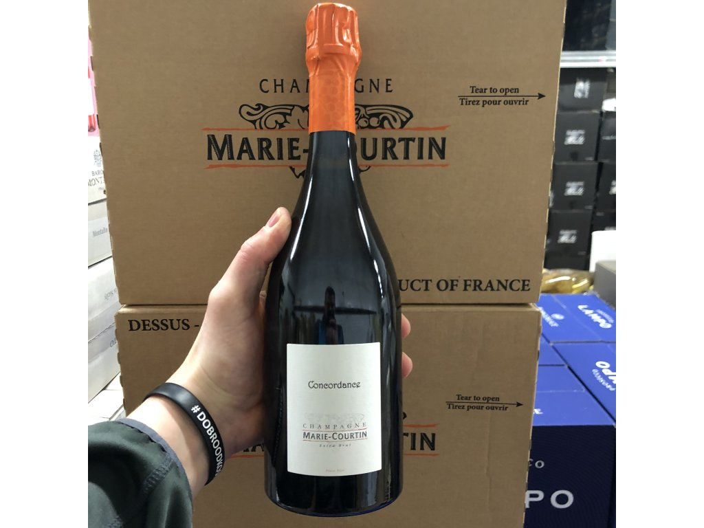 Marie Courtin - Cuvée Concordance Extra brut de Pinot Noir