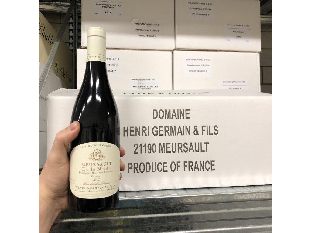 Henri Germain - Meursault Clos des Mouches rouge
