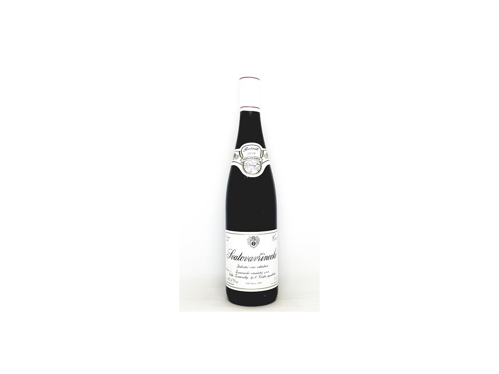 Žernosecké vinařství Svatovavřinecké jakostní víno 2018