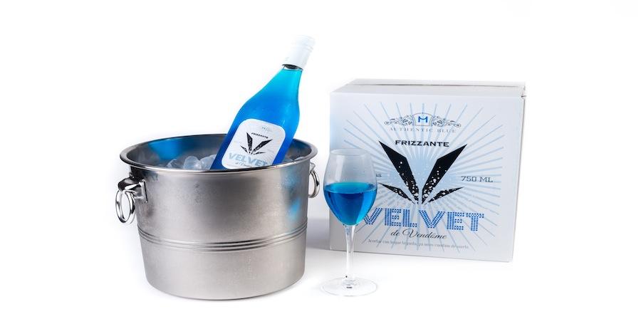 velvet - modré Frizzante