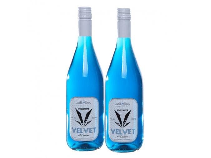 2 botellas de Frizzante Azul Velvet de Vendome Marques de alcantara