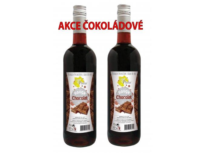 AKCE 2 láhve čoko