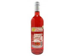 Rosé Fraise des bois Cranberry Cocktail Plaisir