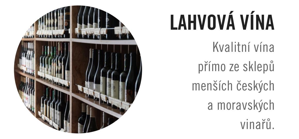 Lahvová vína v Podskali
