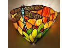 Nástěnná lampa Tiffany Dragonfly - 30*15*20 cm 1x E14 / Max 40W