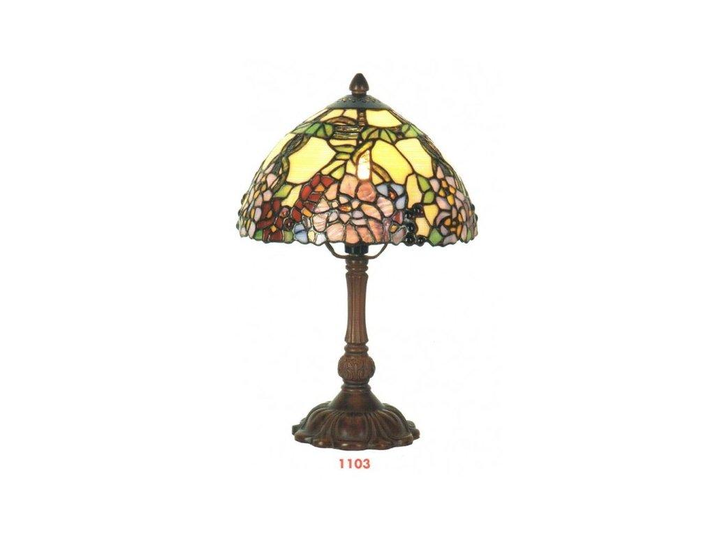 Stolní lampa Tiffany - Ø 22*32 cm 1x E14 / max 40w