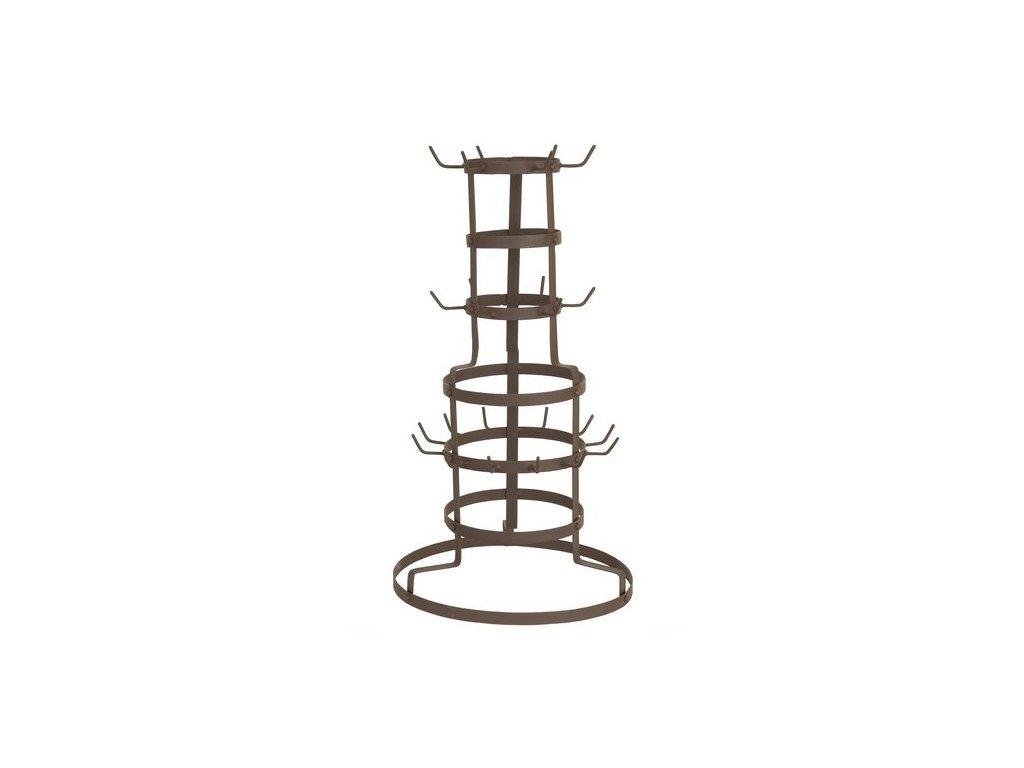 Kovový stojan na hrnky - 30 * 50 * 54 cm