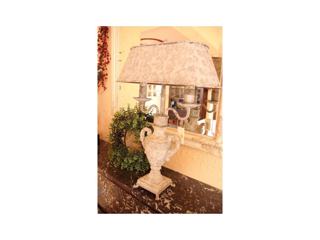 Stolní lampa LIVIE  - 40*18*54 cm 2x E27