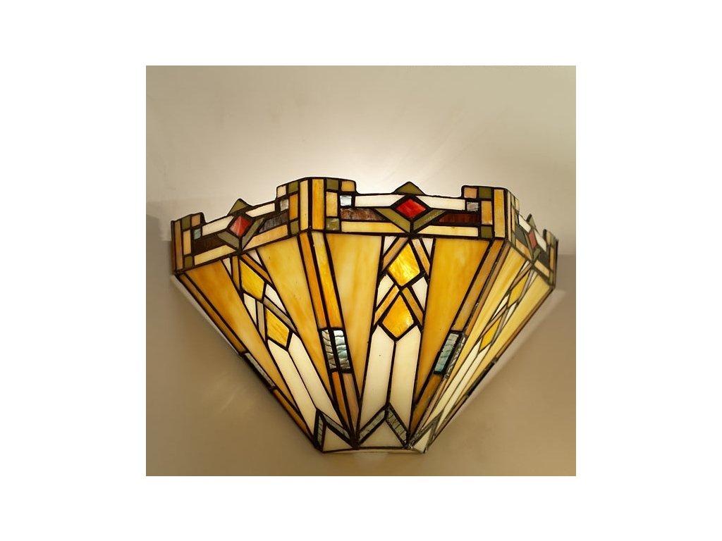 Nástěnná lampa Tiffany - 31*13*20 cm 1x E14 / Max 40W