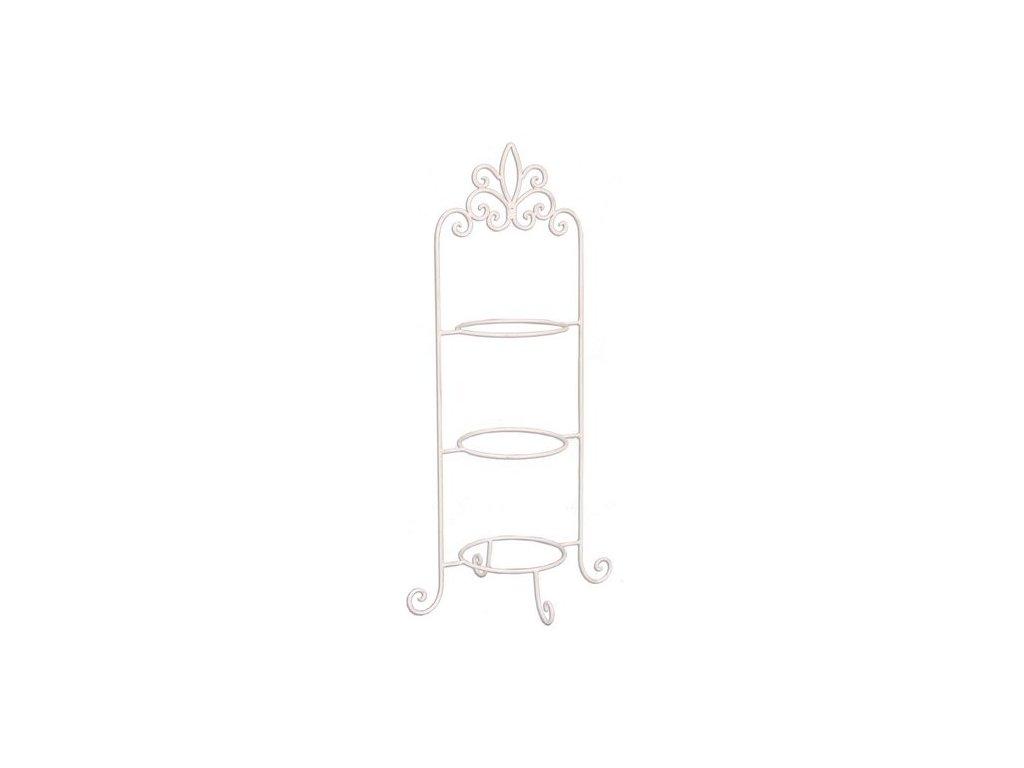 Kovový stojan na talíře -  38*30*77 cm
