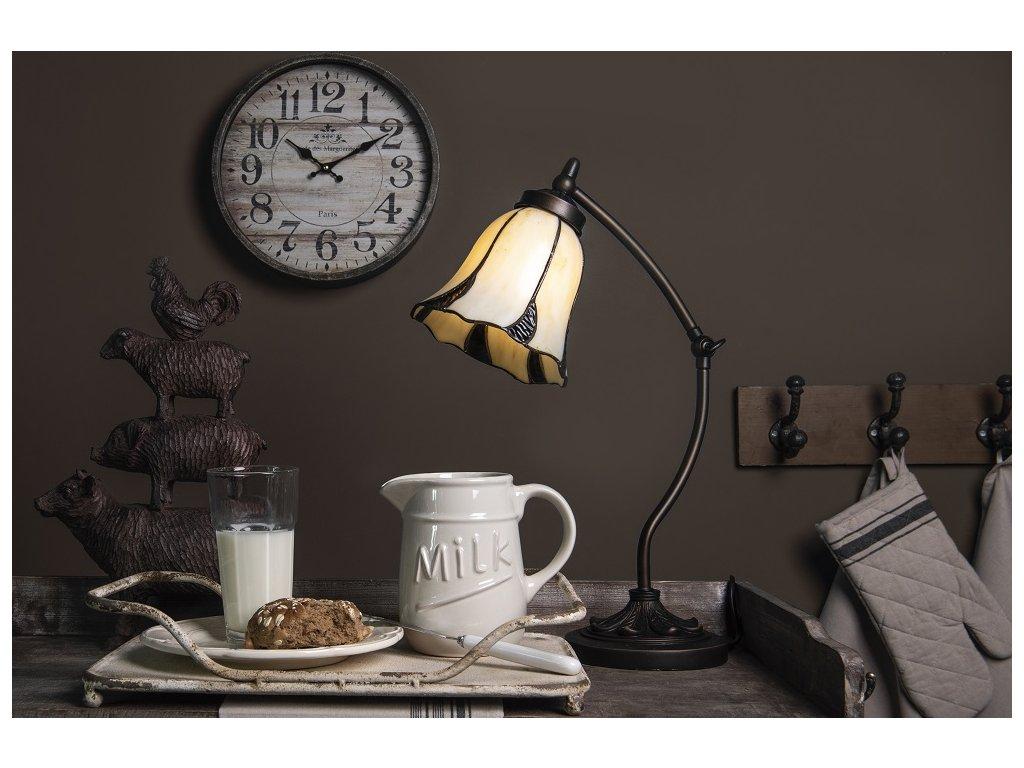 Stolní lampa Tiffany - Ø 15*46 cm 1x E14 / max 40w