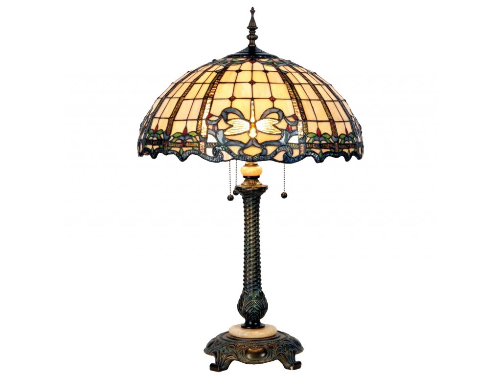 Stolní lampa Tiffany - Ø 50*80 cm 2x E27 / max 60w