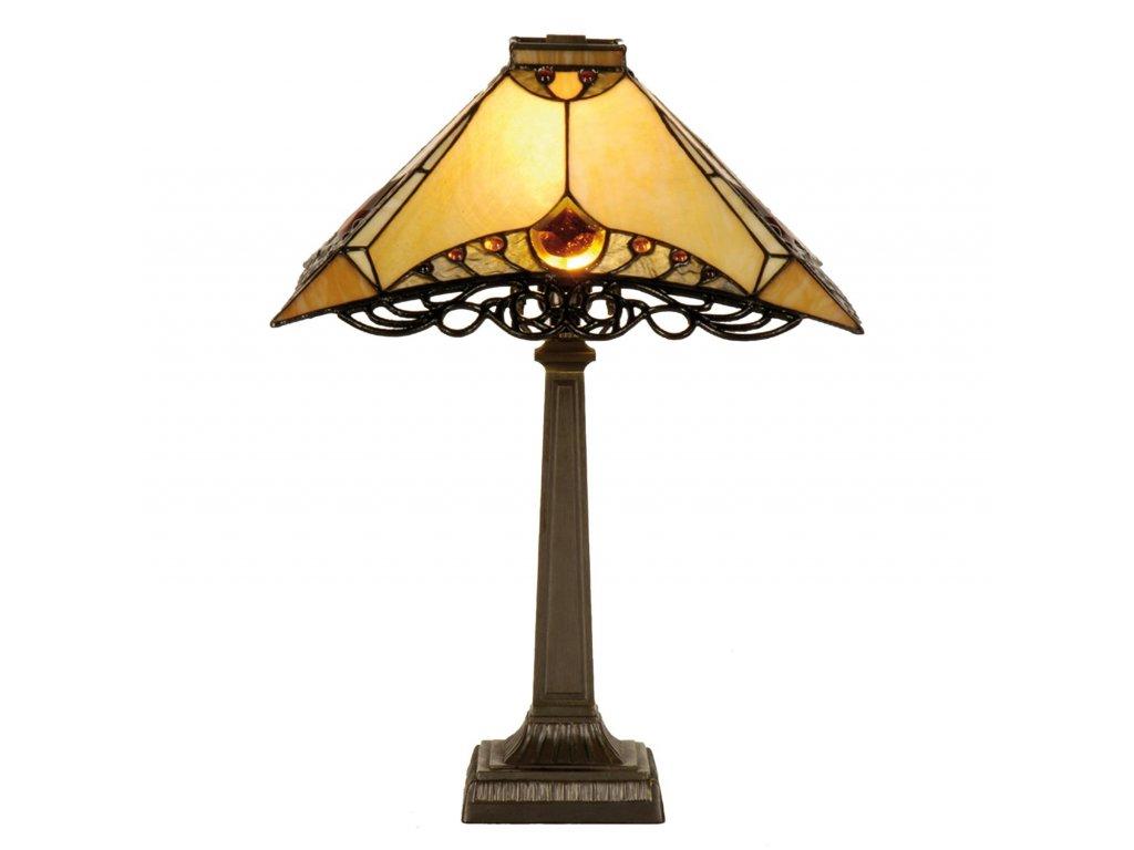 Stolní lampa Tiffany -36*36*50 cm E14/max 1*40W