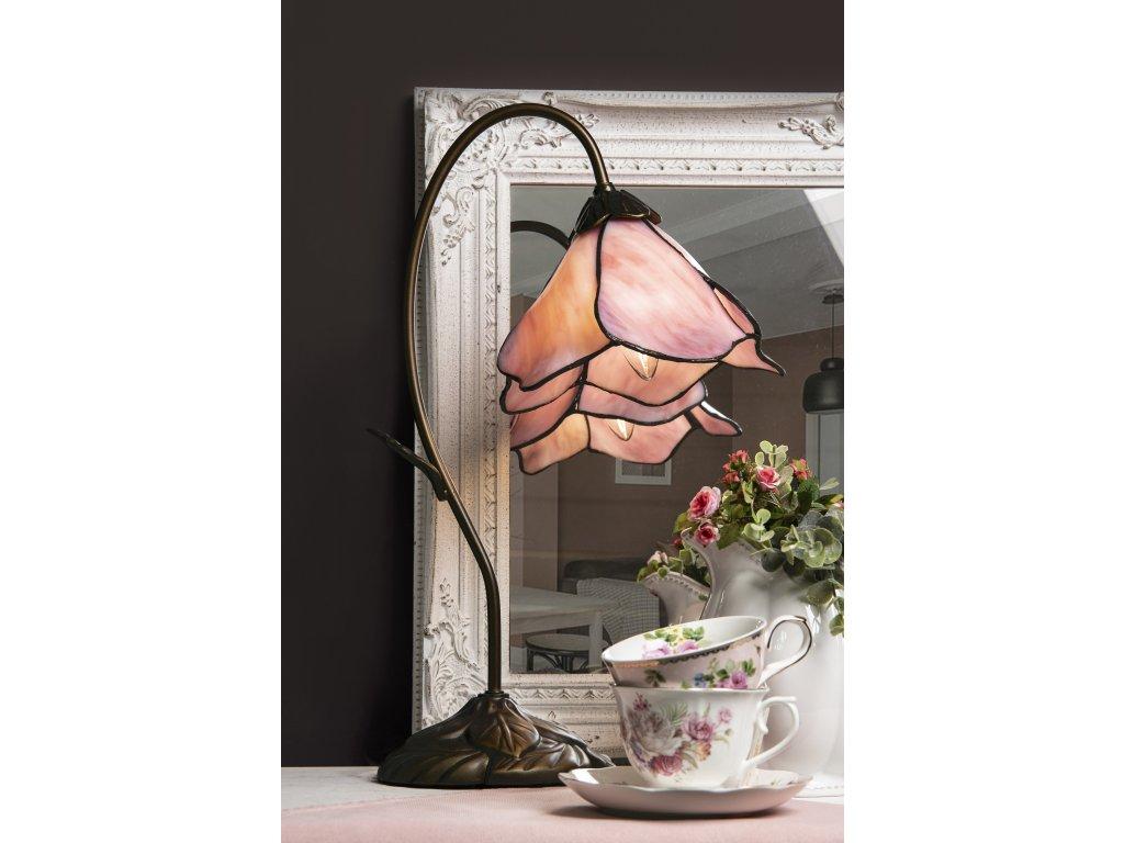 Stolní lampa Tiffany - Ø 31*48 cm 1x E14 / Max 40W