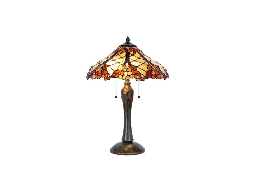 Stolní lampa Tiffany - Ø 47*60 cm 2x E27 / Max 60W