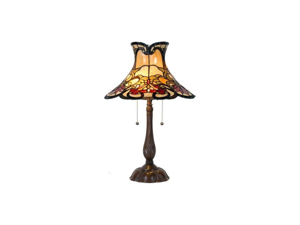 Stolní lampa  Tiffany  -Ø 51*66 cm 2x E27 / Max 60W