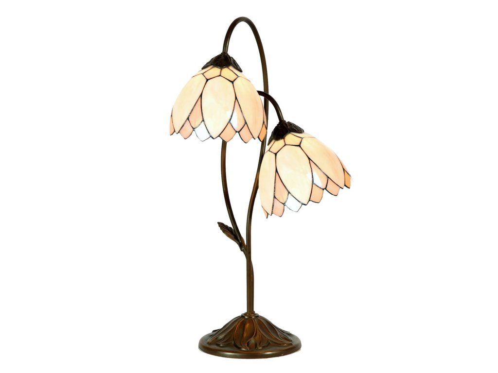 Stolní lampa  Tiffany - pr 61*33 cm 1x E14 max 40w