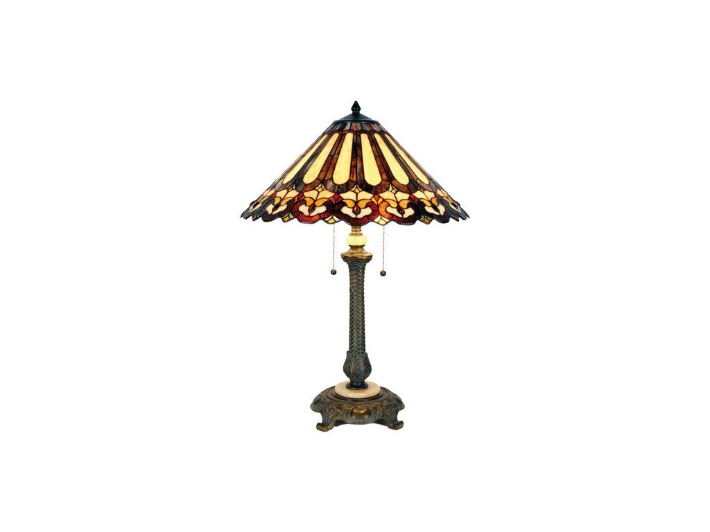 Stolní lampa  Tiffany  - Ø 53*71 cm 2x E27 / Max 60W