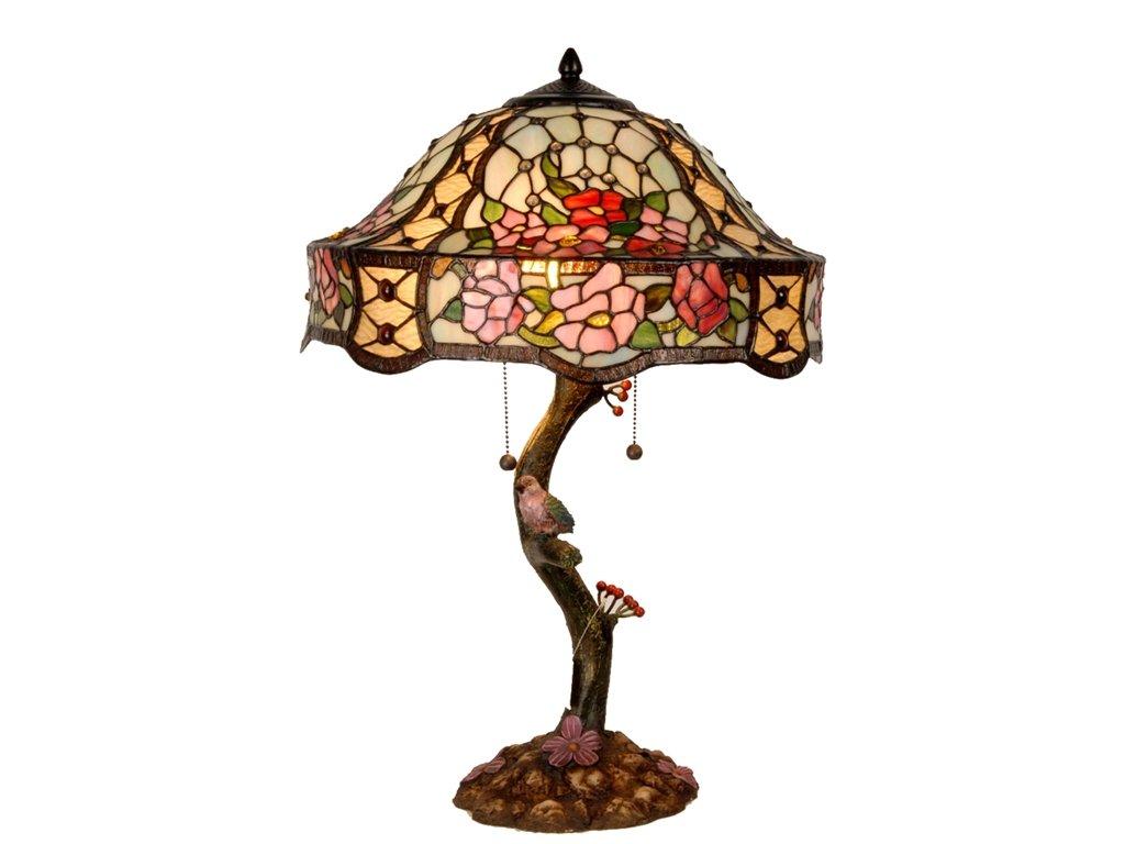 Stolní lampa Tiffany - pr.45*62 cm 3x E27 / Max 60w