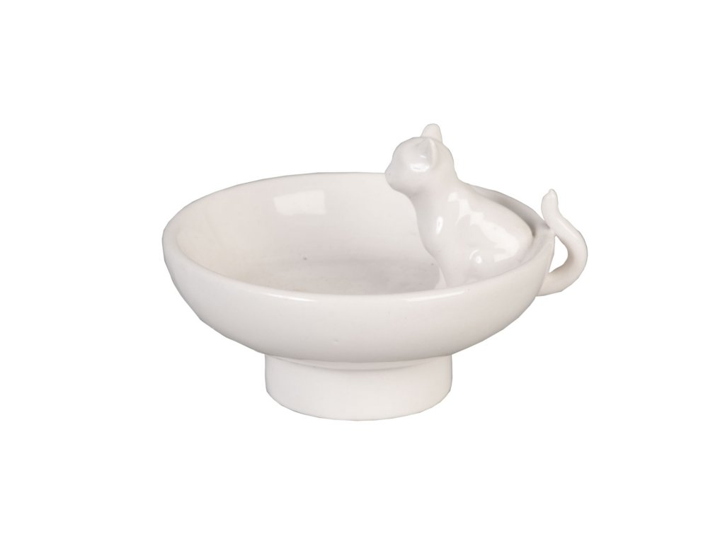 Miska s kočičkou - pr  8*6 cm