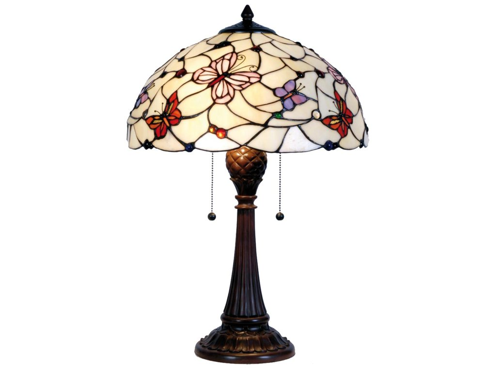 Stolní lampa Tiffany - Ø 41*60 cm 2x E27 / Max 60w