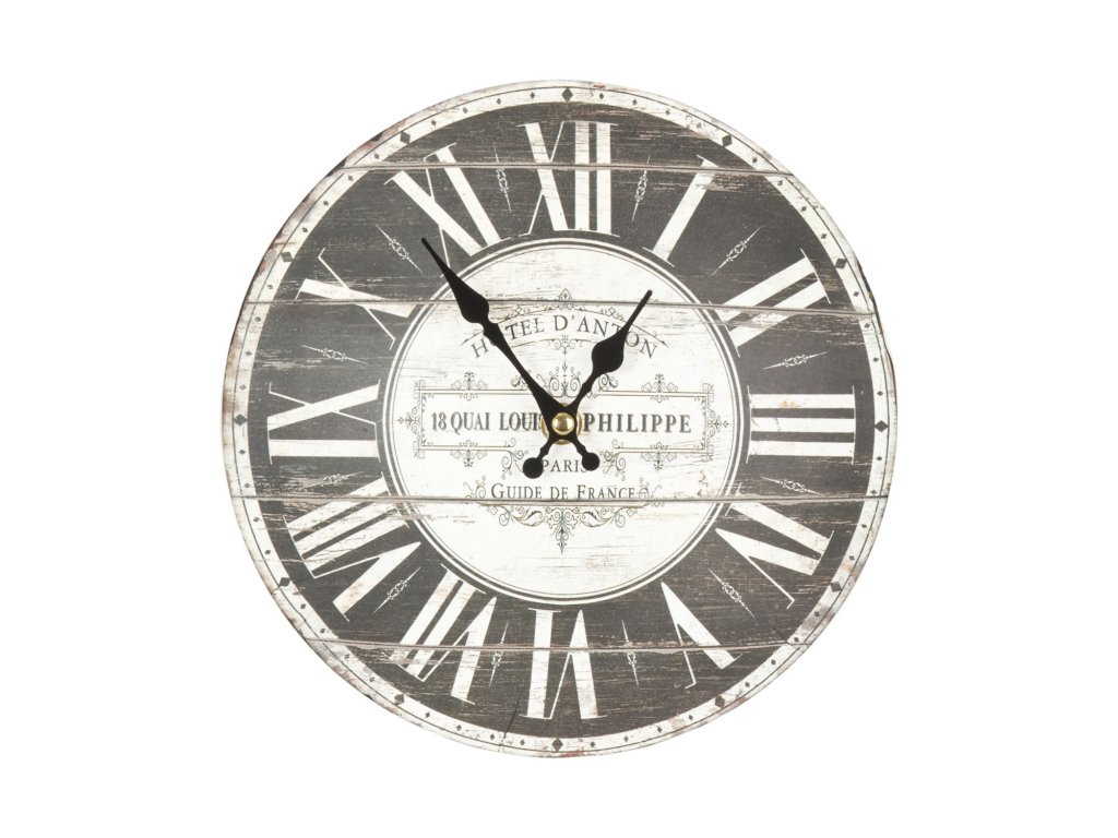 Nástěnné hodiny - pr.22*4 cm