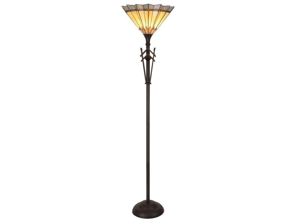 Stojací lampa Tiffany- pr.45*182 cm 1x E27 / Max 60W