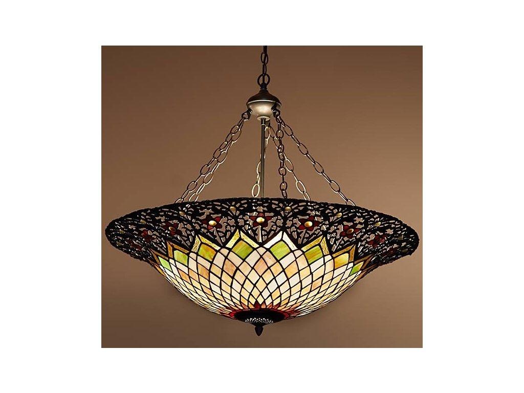 Závěsná lampa Tiffany - pr 80*115 cm 3x E27 / max 60W