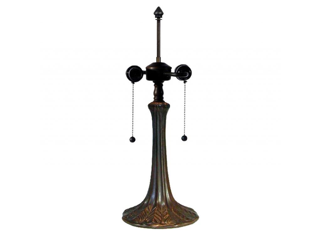 Tiffany noha ke stolní lampě - pr.17*52 cm 2x E27 / Max 60W