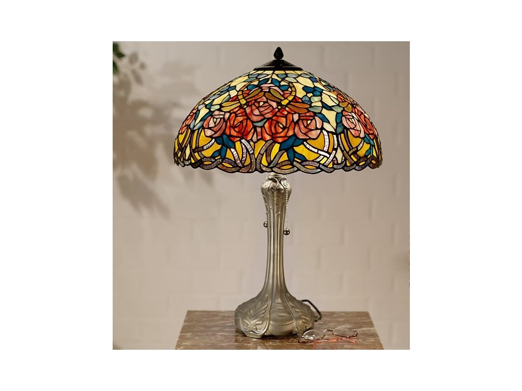 Stolní lampa Tiffany - Ø 46*64 cm 2x E27 / Max 60W