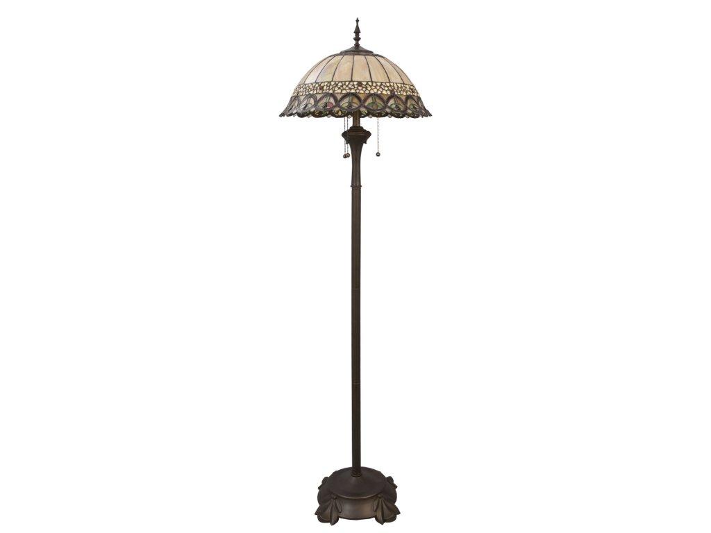 Stojací lampa Tiffany - Ø 50*165 cm 3x E27 / Max 60w